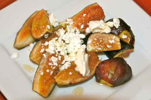 sweet & savory fresh figs