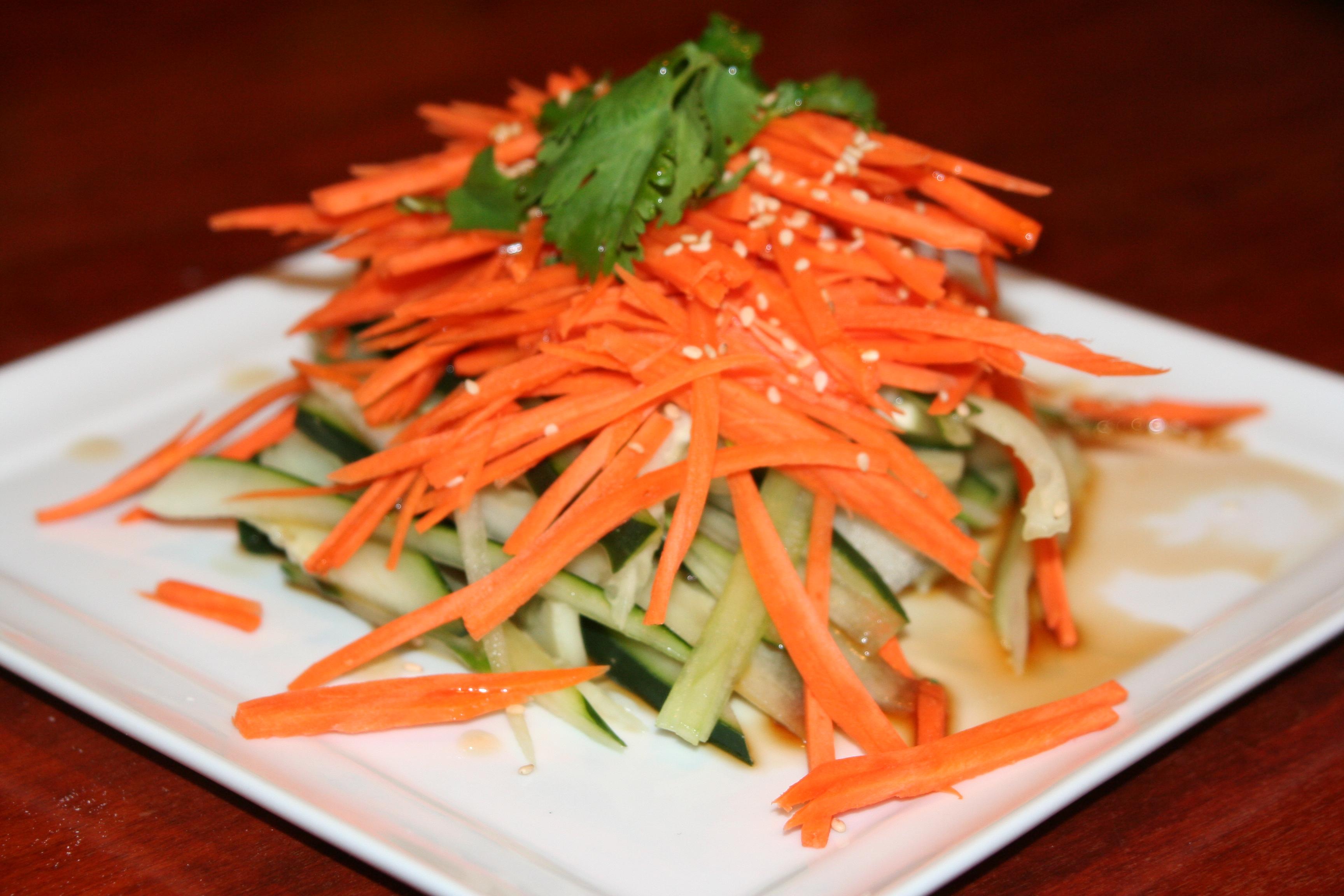 carrot top salad