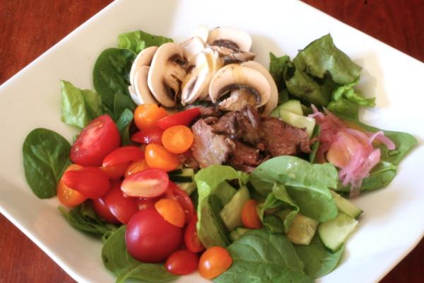 basil beef salad