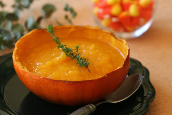 pumpkin thyme corn