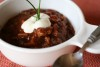 turkey chili bowl