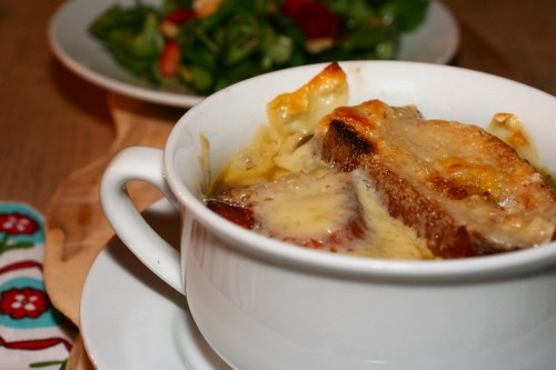 meatless monday – french onion soup