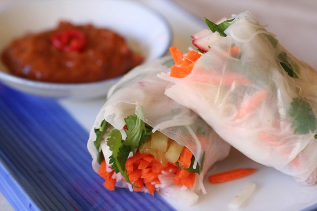 vietnamese spring rolls - rolled and ready