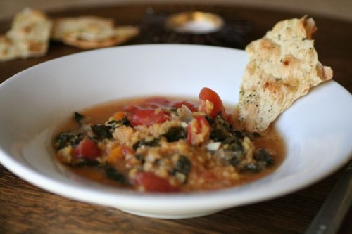 lentil &#038; kale minestrone with class