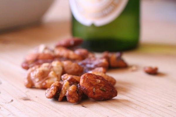 is the nuts or the beer that you want?
