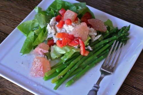 crabmeat & citrus salad