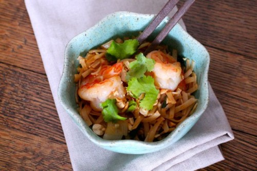 a healthier side of pad thai is cause for celebration