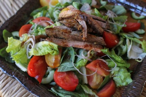 Basil Beef Salad