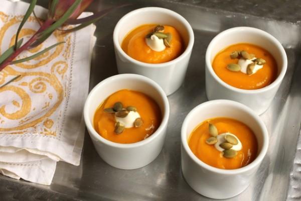 cumin roasted squash soup