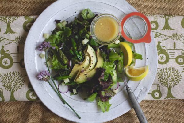 farmer's market salad (spring)