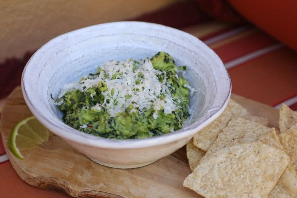 guacamole with kale