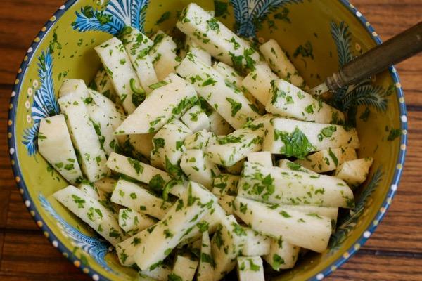 jicama lime salad